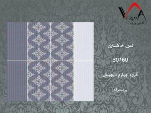 سرامیک ثمین خاکستری - شرکت کاشی یزد سرام
